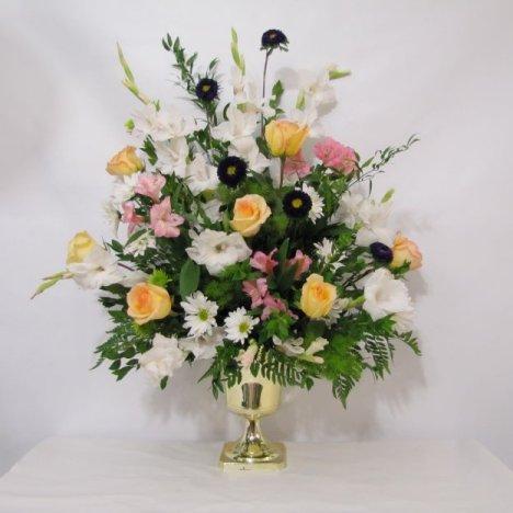 Altar Flowers Diy Wedding Flower Tutorials For Brides