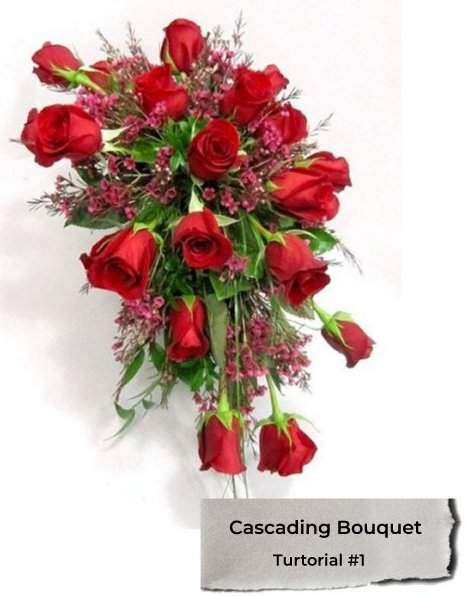 Cascading Wedding Bouquets Diy Bridal Bouquet Tutorials