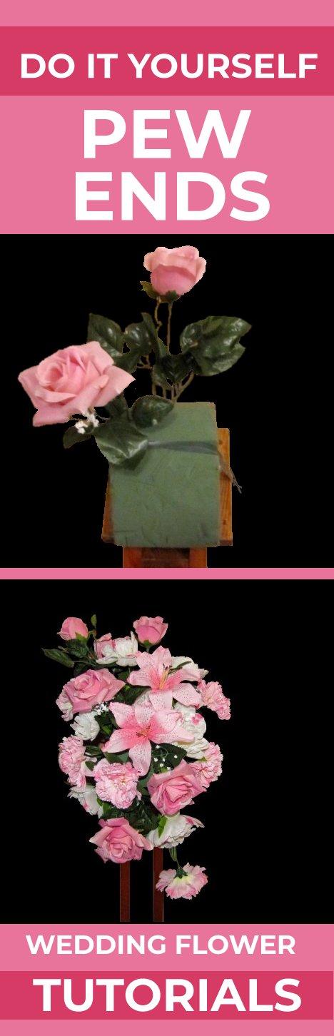 Church Pew Decorations Diy Wedding Flower Tutorials