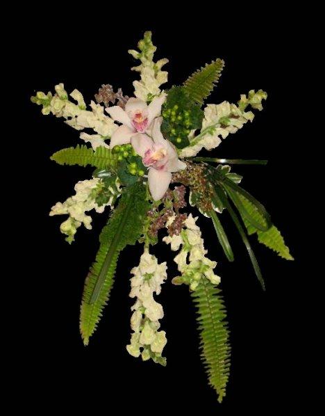Dendrobium Orchid Bridal Bouquet Diy Wedding Flower