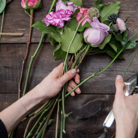 Hand tied bridal bouquets free flower tutorials for A lot of different flowers make a bouquet