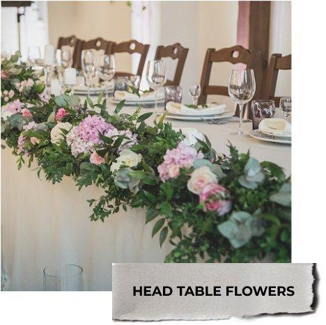 Head Table Decorations Diy Wedding Flower Ideas Free Tutorials