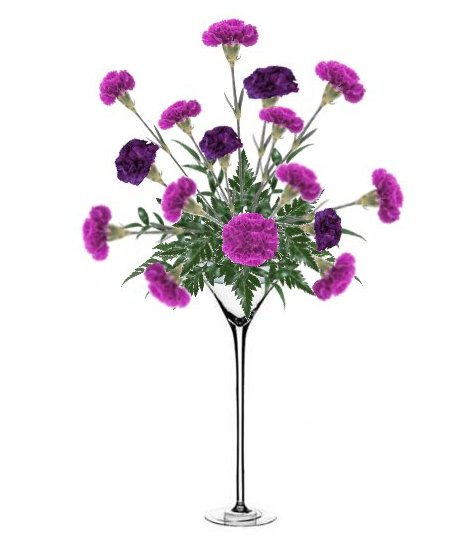 Martini Glass Centerpiece Diy Flower Tutorials For Weddings