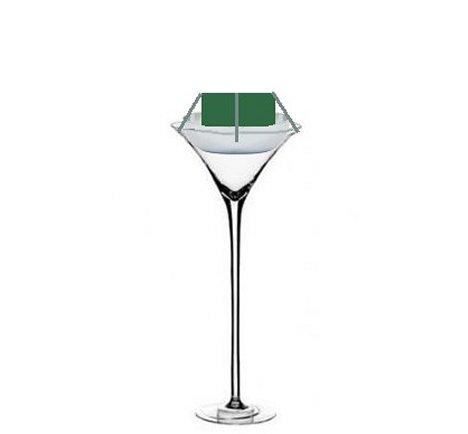 Martini Vase Centerpieces Diy Wedding Flowers For Receptions