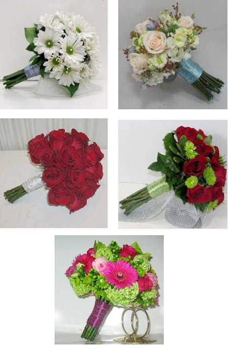 Red Rose Wedding Bouquet - Easy DIY Flower Tutorials