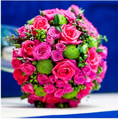 Pink Wedding Bouquets Easy Diy Flower Tutorials Recipes And Ideas