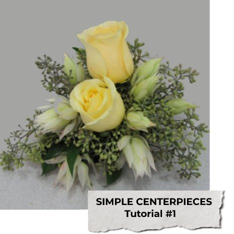 Simple Wedding Centerpieces - Easy DIY Flower Designing