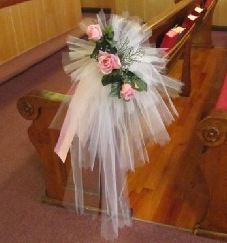 Wedding Pew Decoration Ideas: Step By Step DIY Wedding Flower