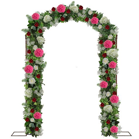 Wedding arch decorations easy diy flower tutorials for weddings first consideration is what time of arch you have if you rent one or perhaps your wedding venue can provide one for you some industrious brides make junglespirit Image collections