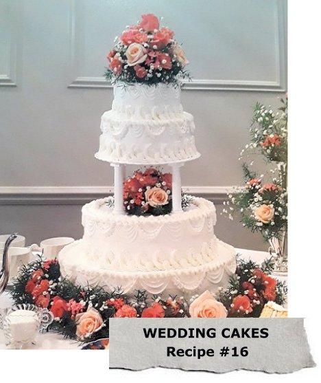 Wedding Cake Flower Decorations Midway Media
