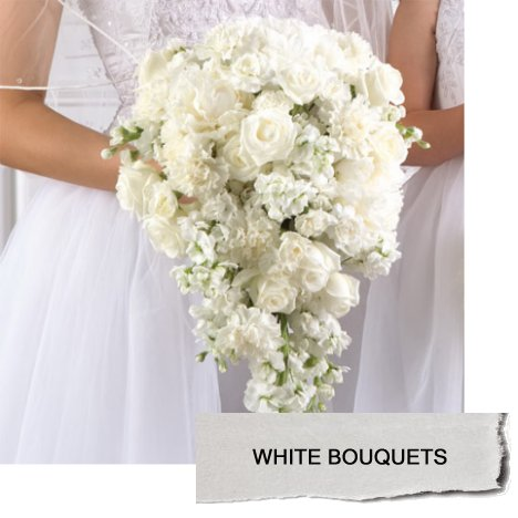 White wedding flowers flower ideas and tutorials for flower designs white wedding flowers mightylinksfo